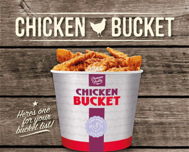 Foto Chicken Bucket mix!